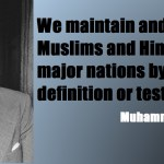 Quaid-e-Azam Muhammad Ali Jinnah Quotations