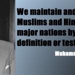 Quaid-e-Azam Muhammad Ali Jinnah Quotations
