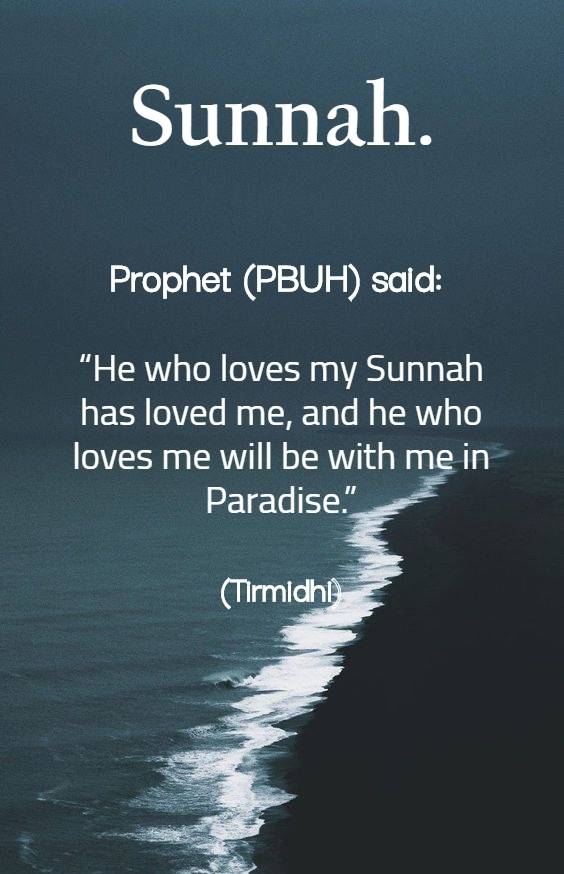 Sunnah - Islamic Quotes in Englsih