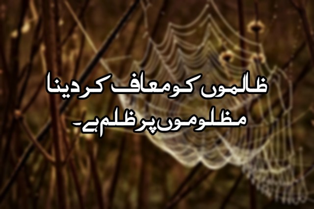 INSPIRATIONAL ISLAMIC QUOTES IN URDU (WITH PICTURES)