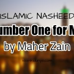 Number One for Me – Maher Zain (Lyrics)