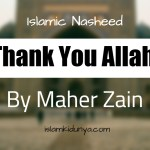 Thank You Allah – Maher Zain (Lyrics)