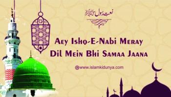 Aey Ishq-e-Nabi Meray Dil Mein Bhi Samaa Jaana