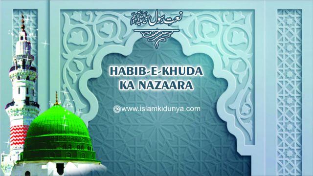 Habib-e-Khuda Ka Nazaara Karoon Mein