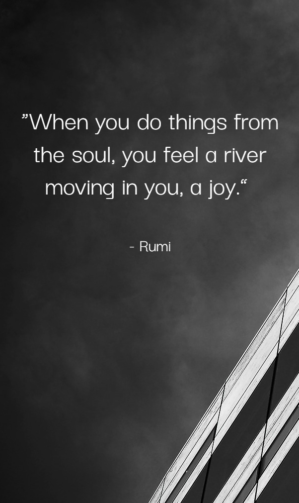 Rumi Wisdom Quotes about Love, Life, Inner Peace and Patience