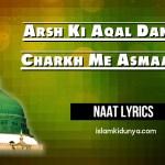 Arsh Ki Aqal Dang Hai Charkh Me Asmaan Hai