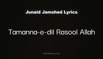 Tamanna-e-Dil Rasool Allah