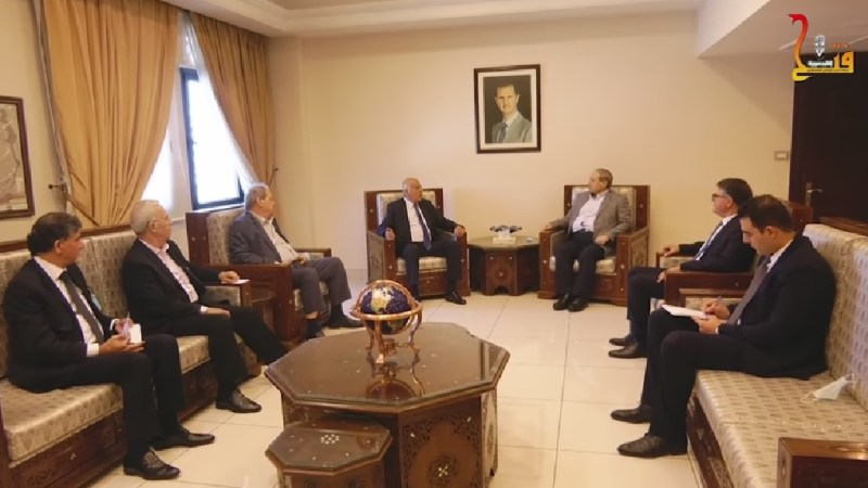 Fatah leaders visit Syria, hold unity talks with rejectionist groups