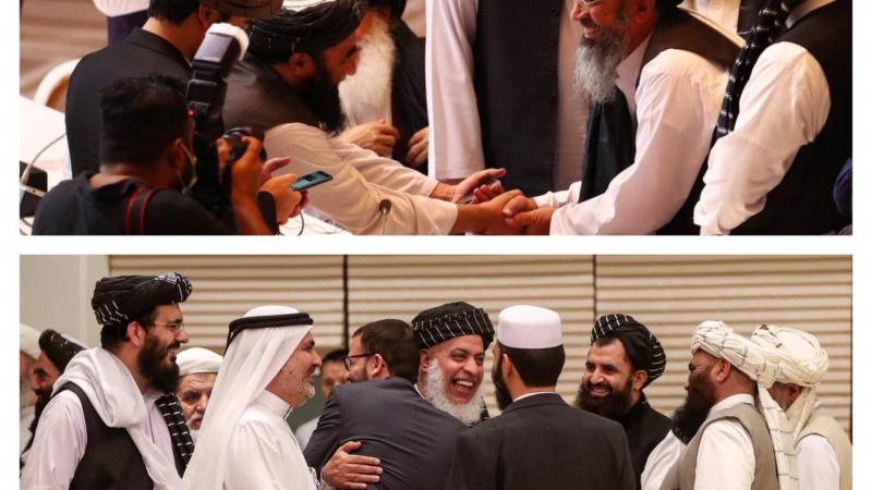 Afghan and Taliban declare to reach an agreement to initiate peace talks
