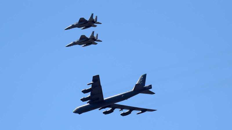Biden Administration increases B-52 bombers in region as deterrent to Iran