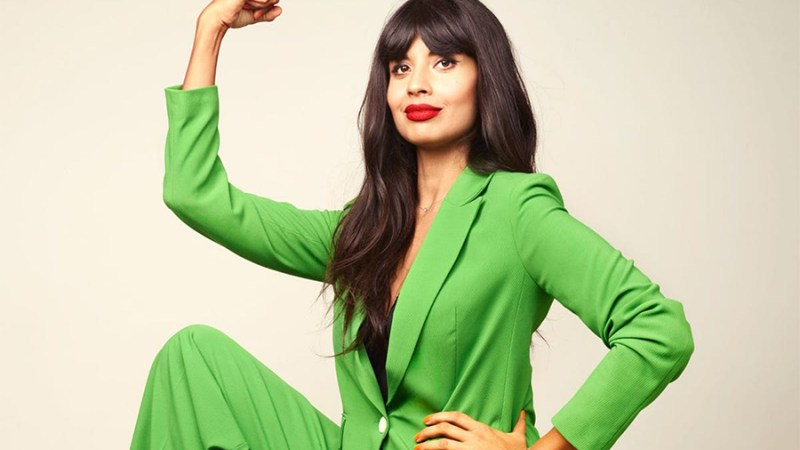 """Jameela Jamil a British   presenter best known for her role in """"The Good Place"""" series"""