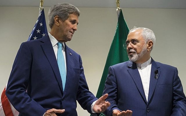 Kerry denies he told Iran's Zarif about Israeli strikes in Syria
