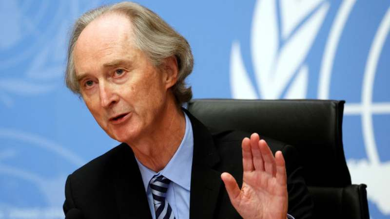 UN Syria envoy says there's interest in stepped up diplomacy