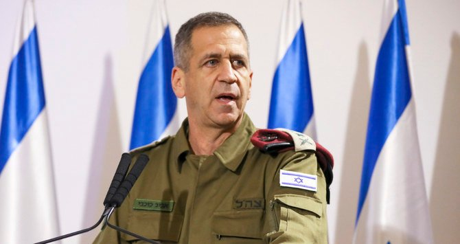 Israel army chief says cooperation with US against Iran 'unprecedented'