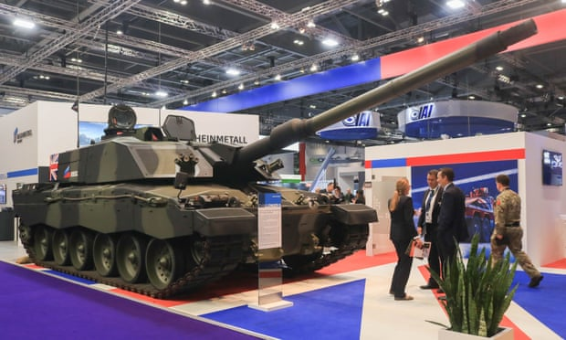 £17bn of UK arms sold to rights' abusers