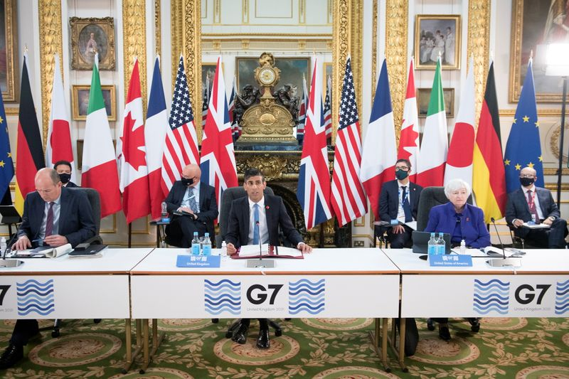Tech giants and tax havens targeted by historic G7 deal