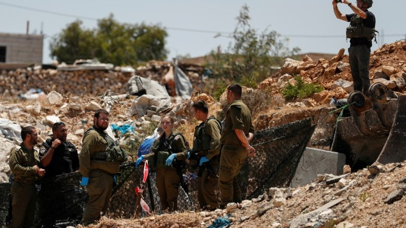 Palestinian woman shot after attacking Israeli troops: army