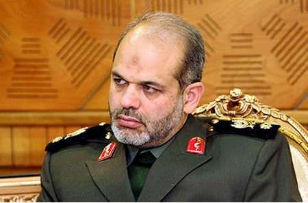 Brig Jen Ahmad Vahidi, Menhan Iran