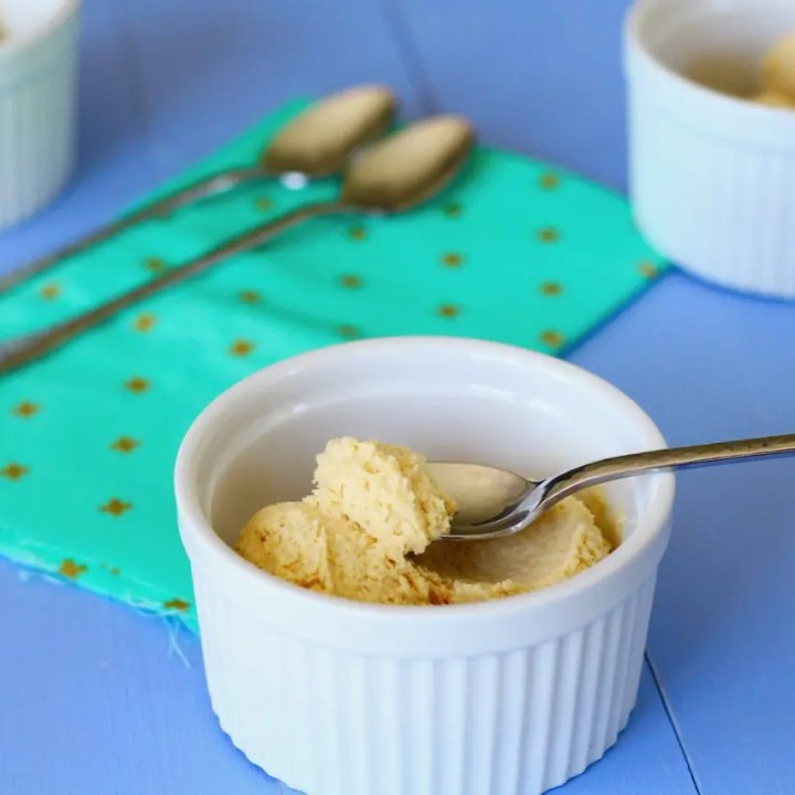 Pear-Caramel Ice Cream