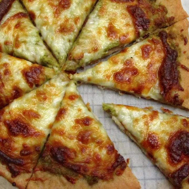 Scape Pesto Pizza