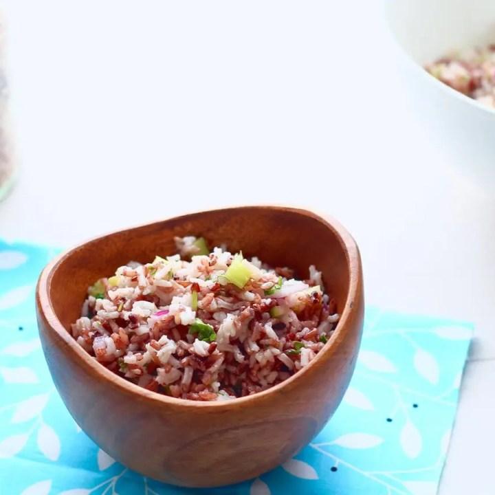 Wild and White Rice Salad