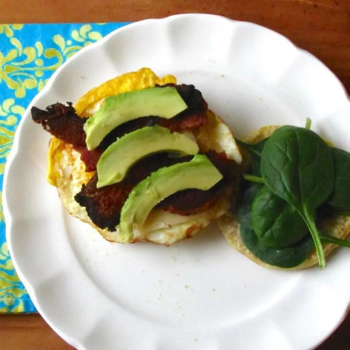 Breakfast Sandwich for One