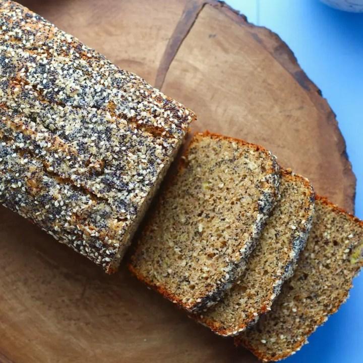 Seeded Whole Wheat Banana Bread
