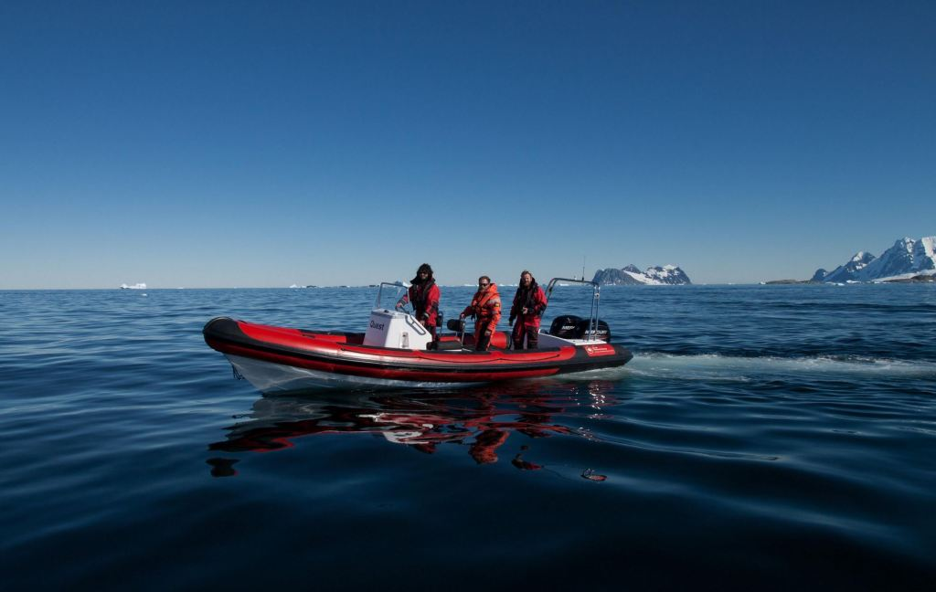 British Antarctic Survey Island 7.5m RIB 'Quest'
