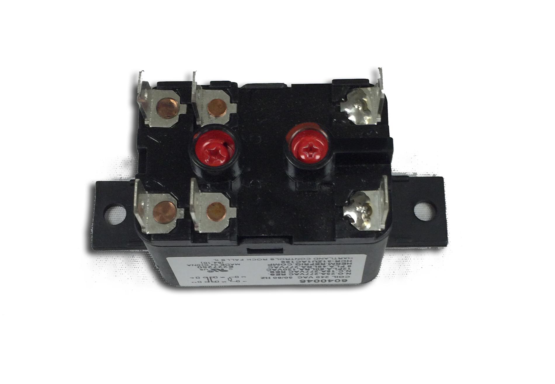 hight resolution of relay 208v part no 6040045