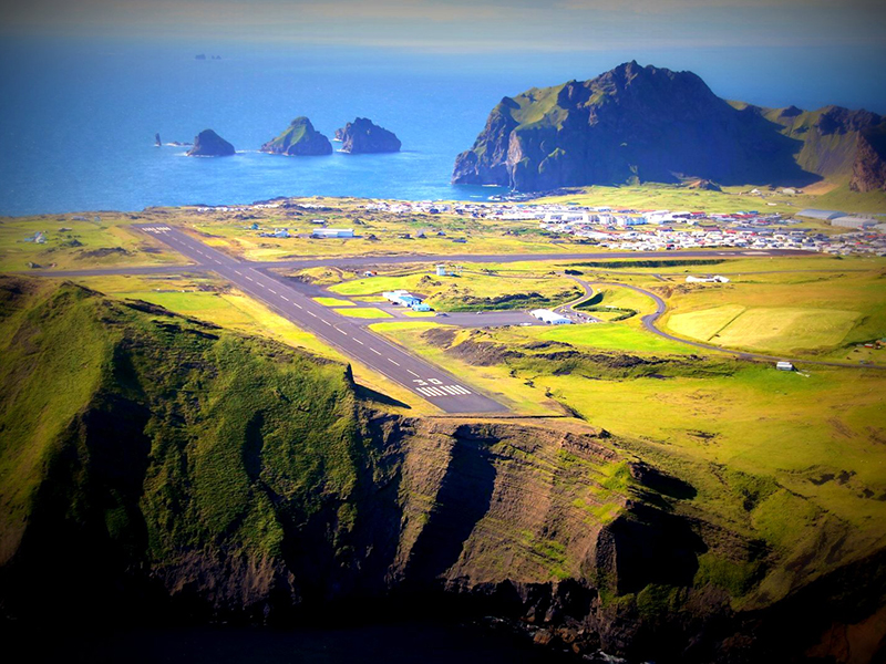 flightseeing to Vestmannaeyjar