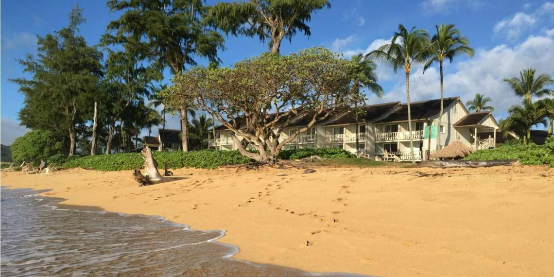 Beach Building Islander on the Beach Kauai