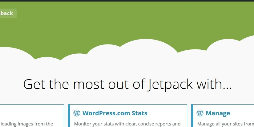 WPcom, jetpack & sharing now enabled