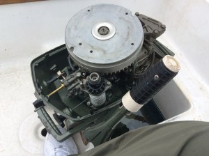 EngineMountWell-1967Johnson6hp-IslanderSailboatInfo