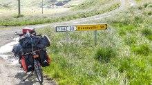 Varmahlíð - camping piste 35 (87 km) A droite, le désert m'attend...