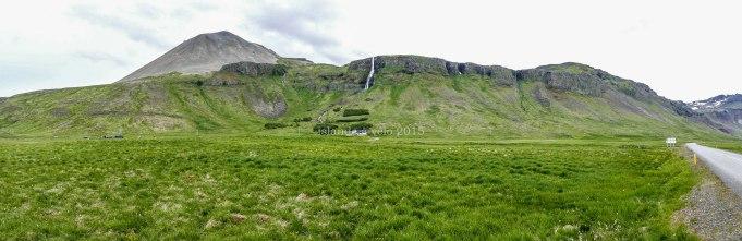 islande à vélo 2015, vue panoramique