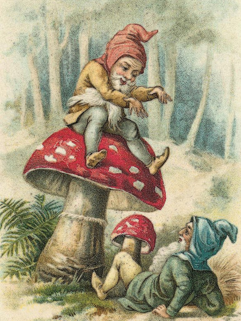 Illustration: Depiction of dwarves in European folklore