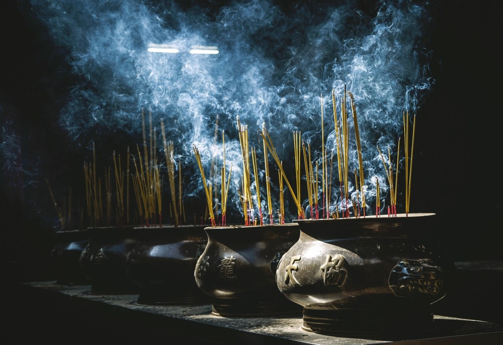 Photo: Incense and smoke