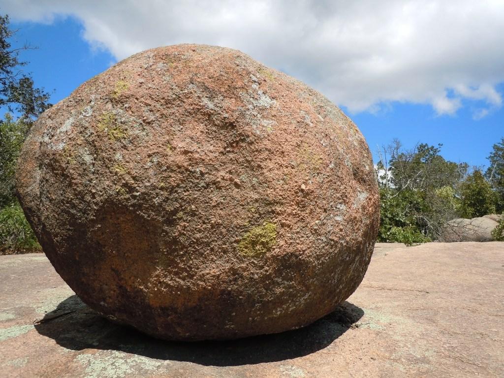 Photo: Large boulder
