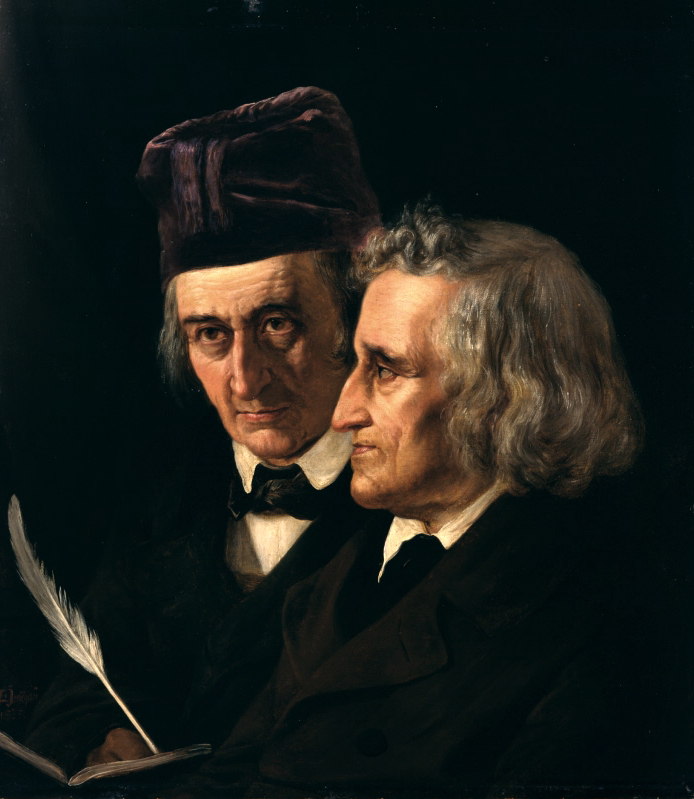 Portraint: Jacob and Wilhelm Grimm