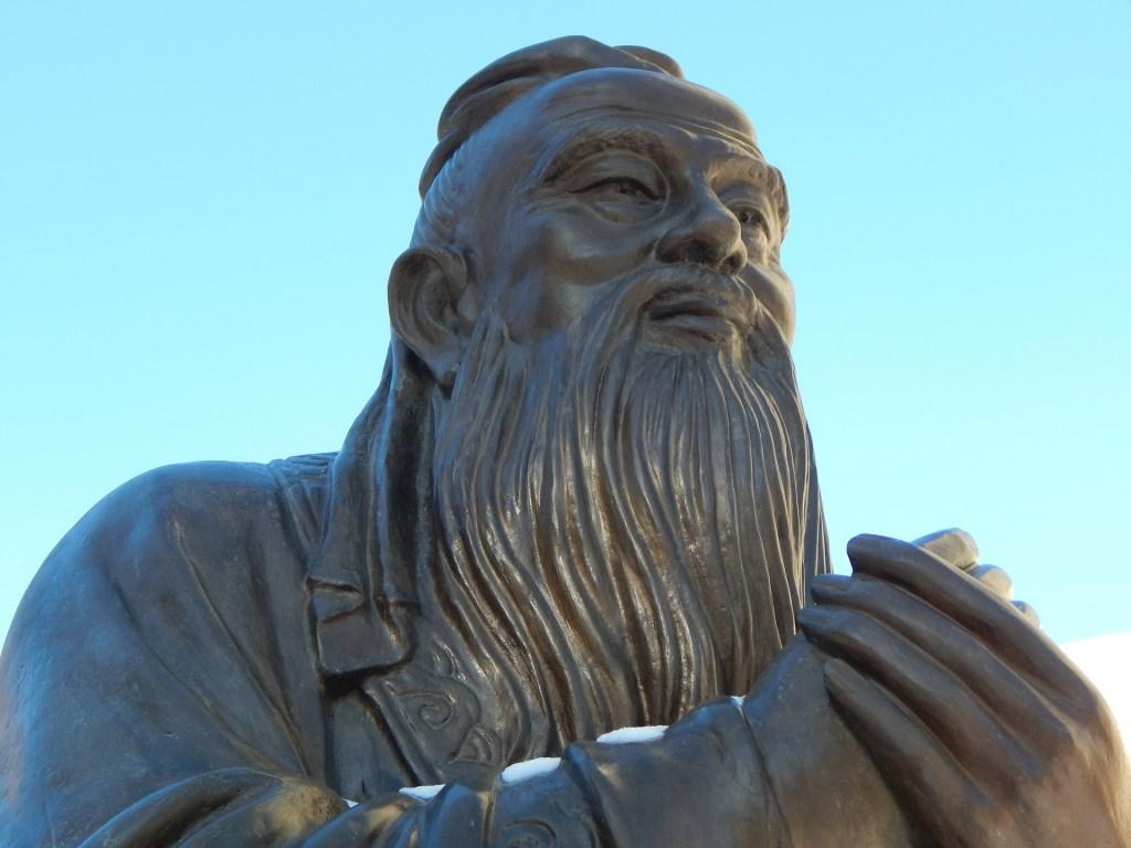 Photo: Statue of Confucius