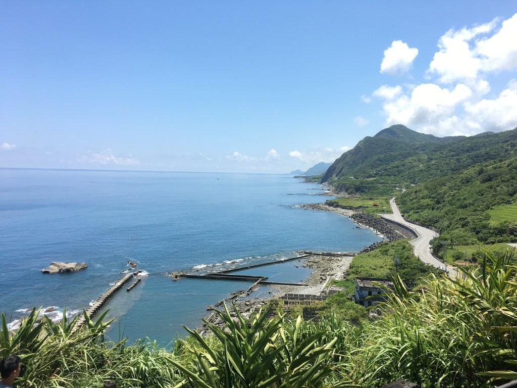 Photo: Hualien's coast in eastern Taiwan