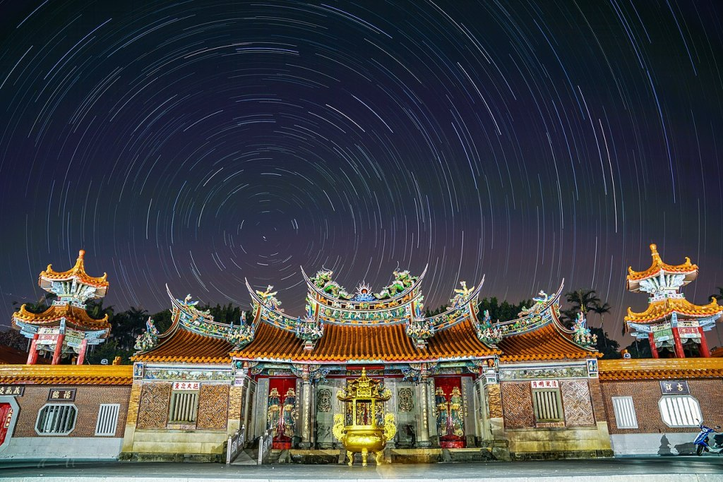Photo: Baozhong Temple—a Hakka martyr shrine in Hsinchu County