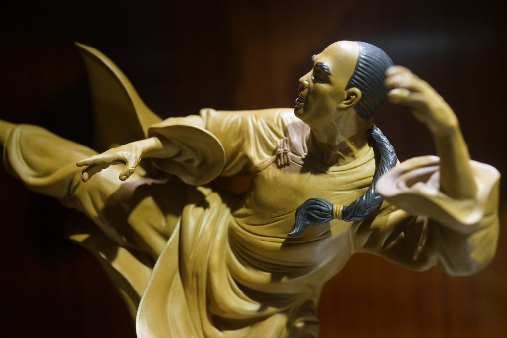Photo: Figurine in kung fu/wushu pose