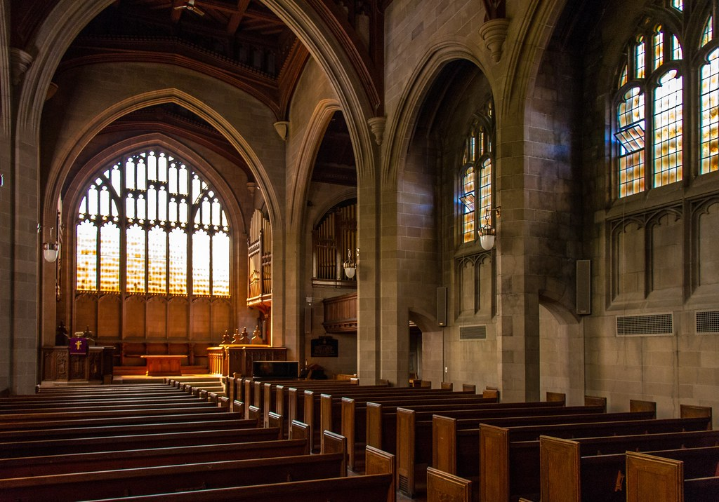 Photo: Knox College Chapel, University of Toronto — where George Leslie Mackay studied