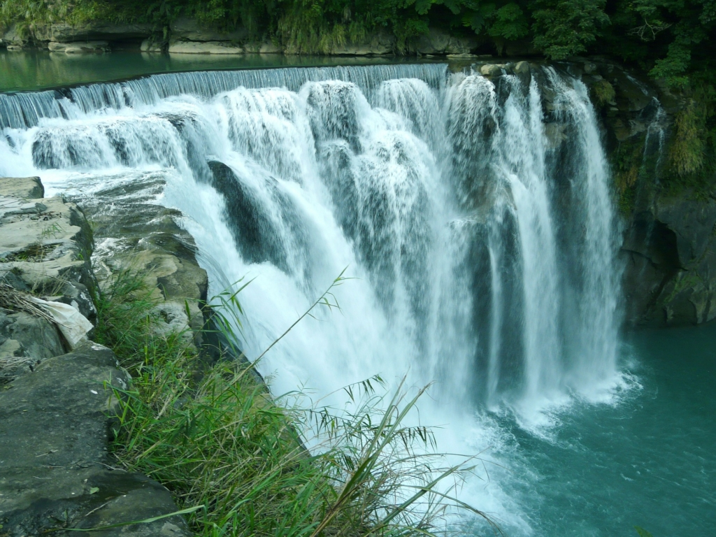 Photo: Taiwanese waterfall