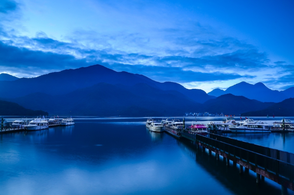 Photo: Sun Moon Lake in Nantou, Taiwan