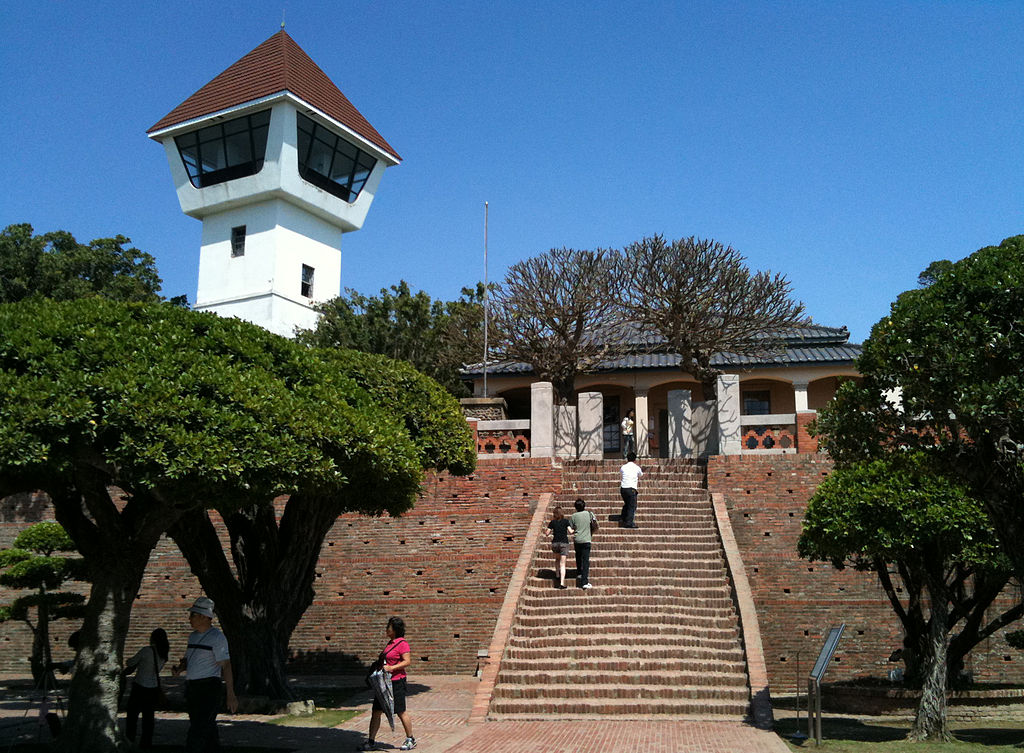 Photo: Anping Fort, Tainan, Taiwan—formerly Fort Zeelandia built by the Dutch East India Company