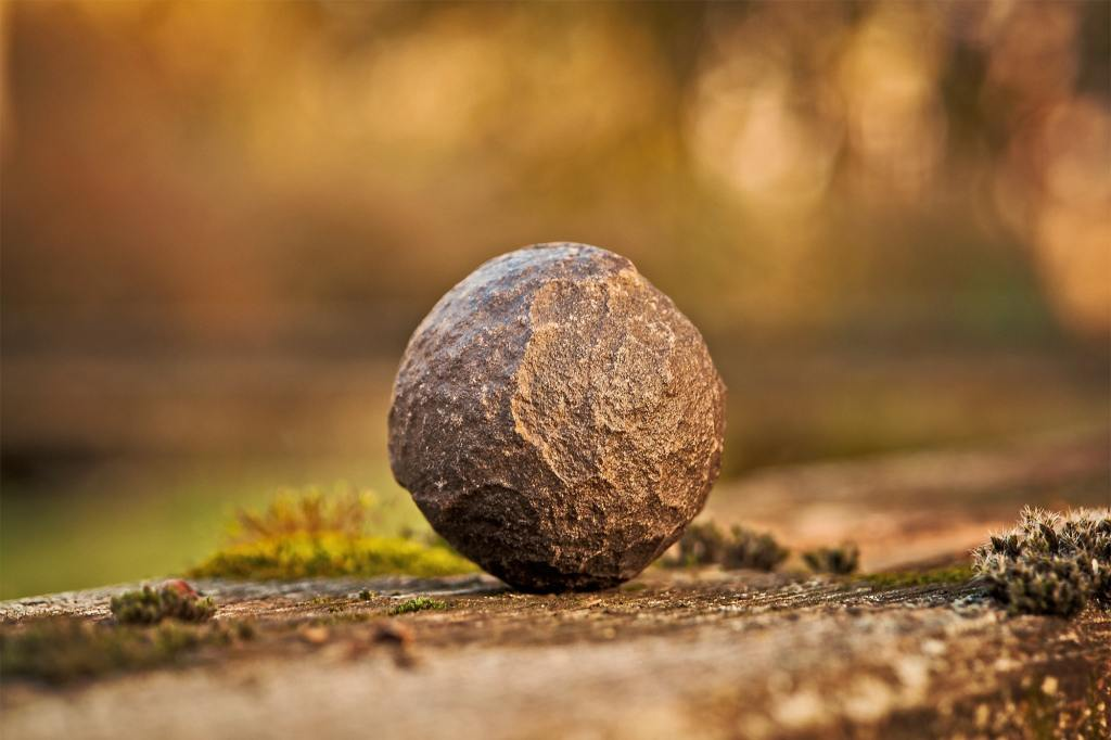 Photo: Stone ball