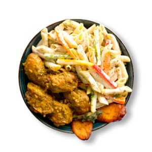 Curry Chicken Rasta Pasta