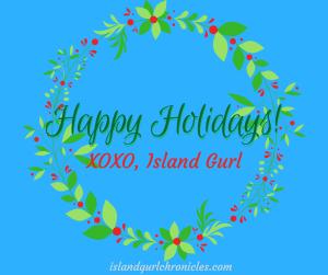 Island Gurl Happy Holidays 2017